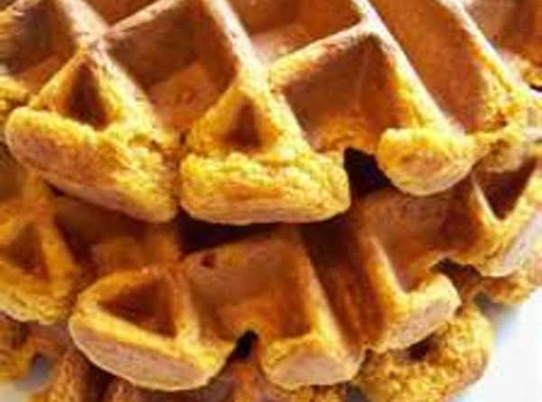 Cheddar Bacon Waffles Recipe