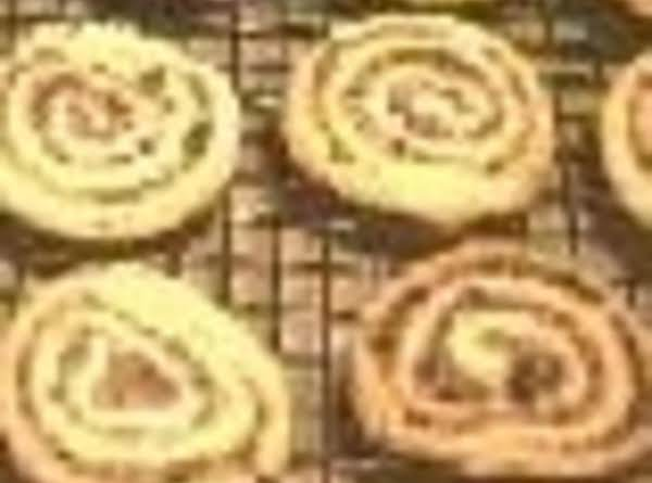 Peanut Chocolate Whirls  (cookies)