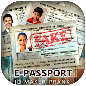 Fake Passport Maker Prank