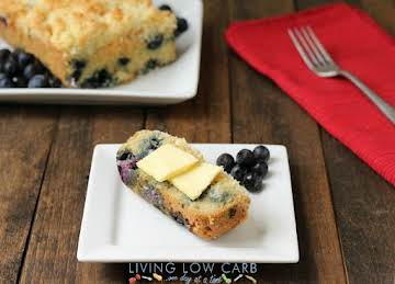 Blueberry Coffee Cake (Primal)