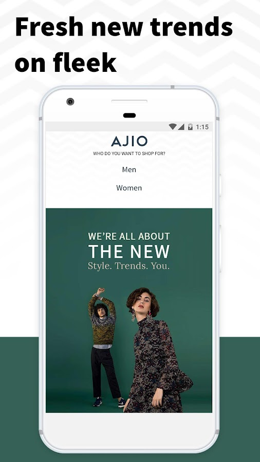 AJIO Online Shopping - Handpicked Curated Fashion- screenshot