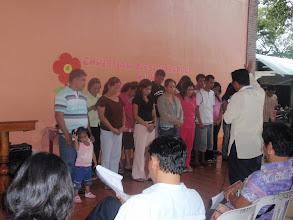 Photo: Vanhempien siunaaminen heinäkuu 2012