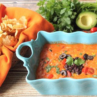Spicy Mexican Cheese Dip.