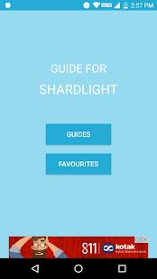 Guide for Shardlight - náhled