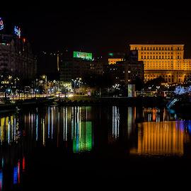 by Mihai Bancila - City,  Street & Park  Night (  )