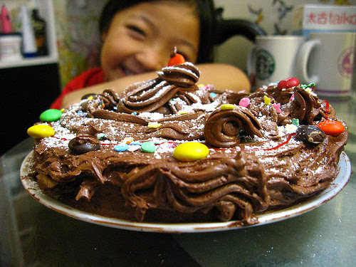 Chocolate Birthday Cake Kid Projectrecipe