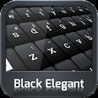 Clavier Black Elegant icon
