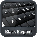 GO Keyboard Black Elegant 3.1 Apk