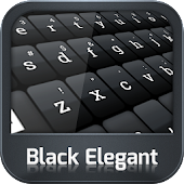 Keyboard Black Elegant