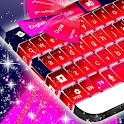 ピンクの火災キーボード icon