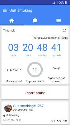 Quit Smoking -No smoking day - screenshot