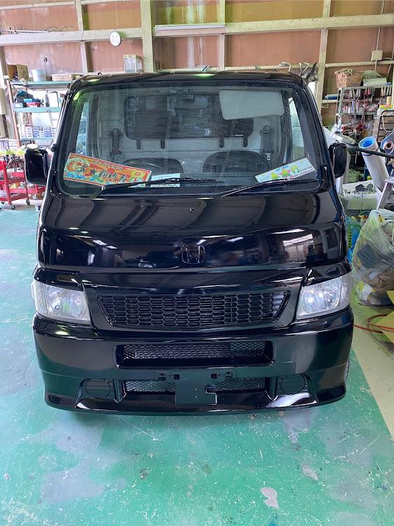 アクティトラック HA6の軽トラ野郎,はろーすぺしゃる,ラメフレーク塗装,泥除けに関するカスタム&メンテナンスの投稿画像1枚目