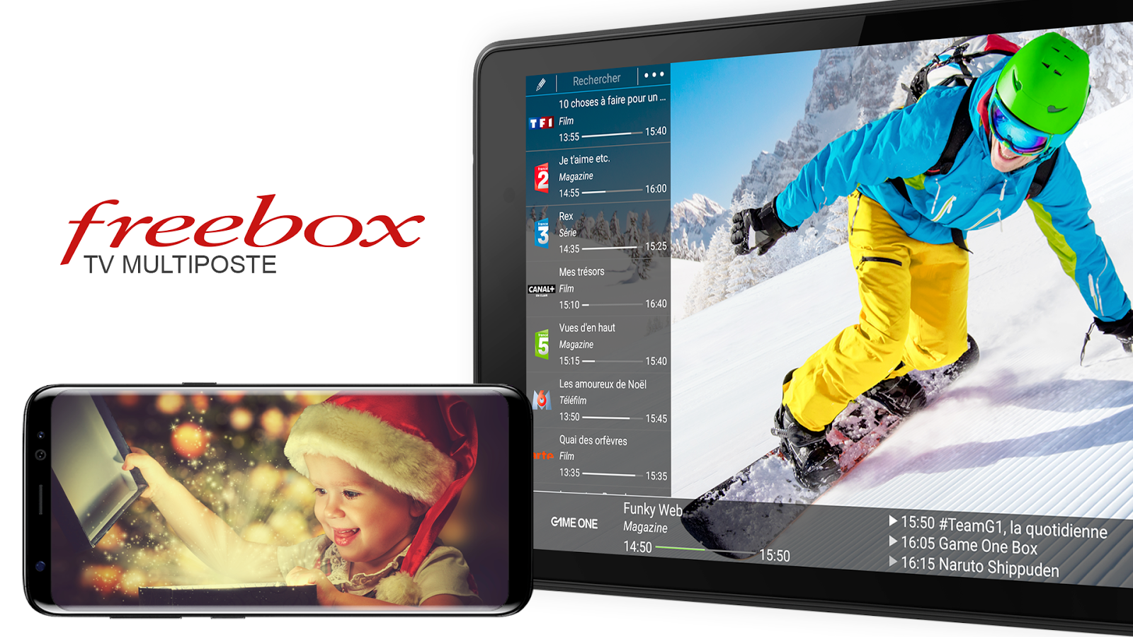 Box'n TV - Freebox Multiposte – Capture d'écran