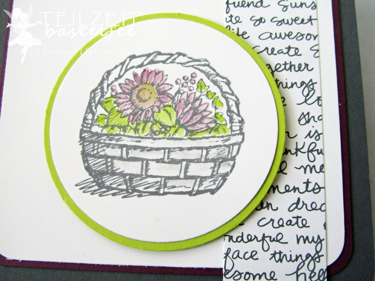 Stampin' Up! - In{k}spire_me #324, Color Challenge, Basket full of Wishes