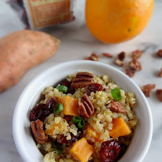 Cranberry Sweet Potato Couscous.