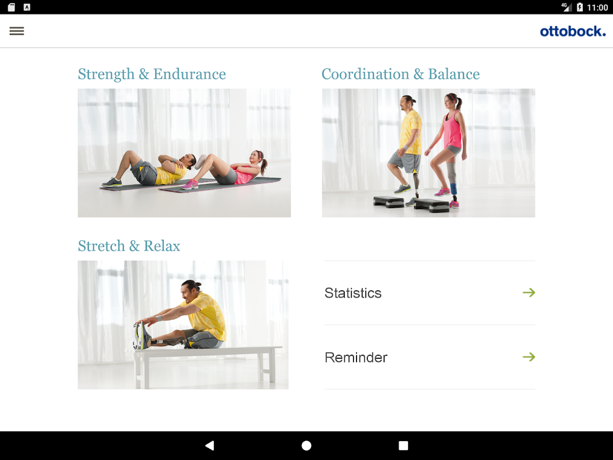 Fitness for Amputees- screenshot