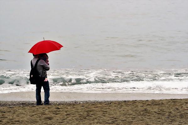 Cade la pioggia. di Piera