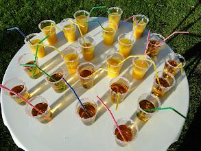 Photo: Welkomst cocktail.