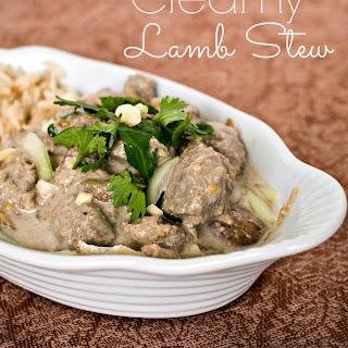 Creamy Lamb Stew.