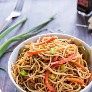 Vegetable Hakka Noodles.