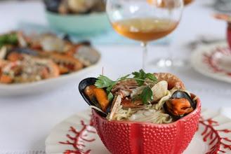 Photo: Espaguetis a la marinera, http://becausegb.blogspot.com.es/2013/09/espaguetis-la-marinera.html, Laura, Bilbao, Canon Eos 1100D