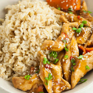 Healthier One-Pot Sesame Chicken Recipe | Healthy One Pot Meals.