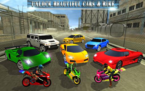 3D Automobilový pohon: automobil Dálnice uniknout screenshot 5