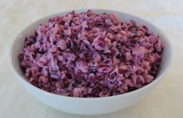 Purple Apple Cole Slaw Recipe