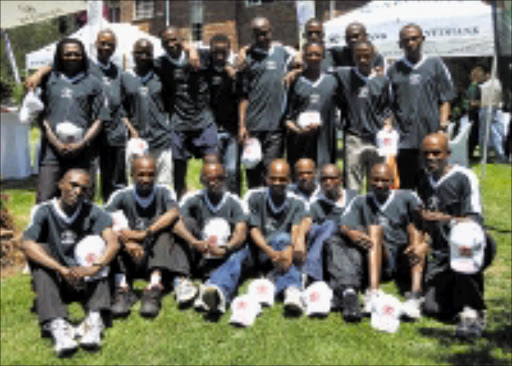 GEARED UP: Athletes from the Toyata Athletics Club will take paer in the Nedbank Soweto Marathon on Sunday. Pic. Vathiswa Ruselo. 29/10/2008. © Sowetan
