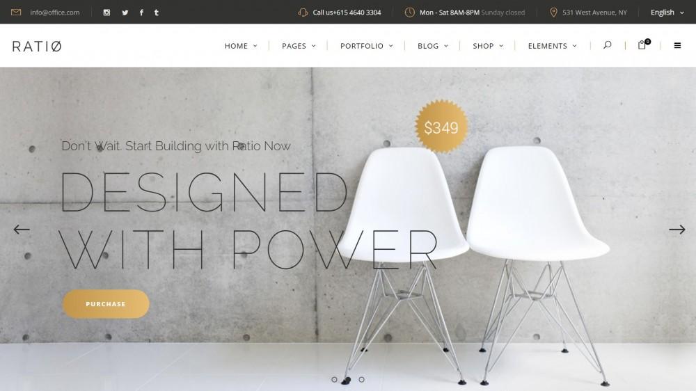 Ratio - Woocommerce furniture themes