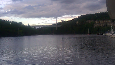 Photo: Rondout River, from the boat.