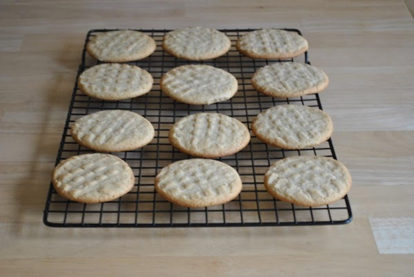 Bake 9 to 10 minutes or until light golden brown. Cool 5 minutes; remove...