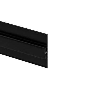 Profilé d'extension pour panneau mural DécoDesign, noir