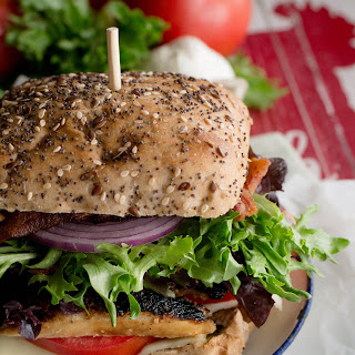 Mojo Grilled Chicken Club Sandwich.