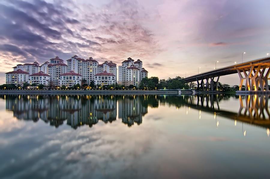 Costa Rhu Condominium by Jashper Delloroso - Buildings & Architecture Homes ( pwcarcreflections, condiminium, reflection, costa rhu, sg, singapore,  )