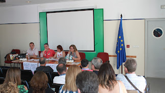 Asamblea consultiva celebrada por la UGT de Almería