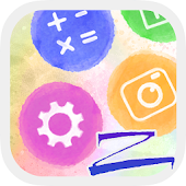 Watercolours ZERO Launcher