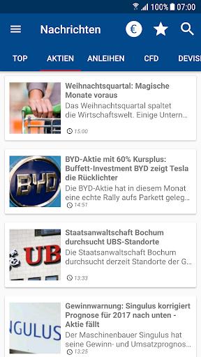 Börse & Aktien - finanzen.net  screenshots 3