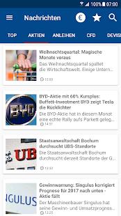 Börse & Aktien - finanzen.net - náhled