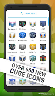 Cube Theme 2 - Icon Pack