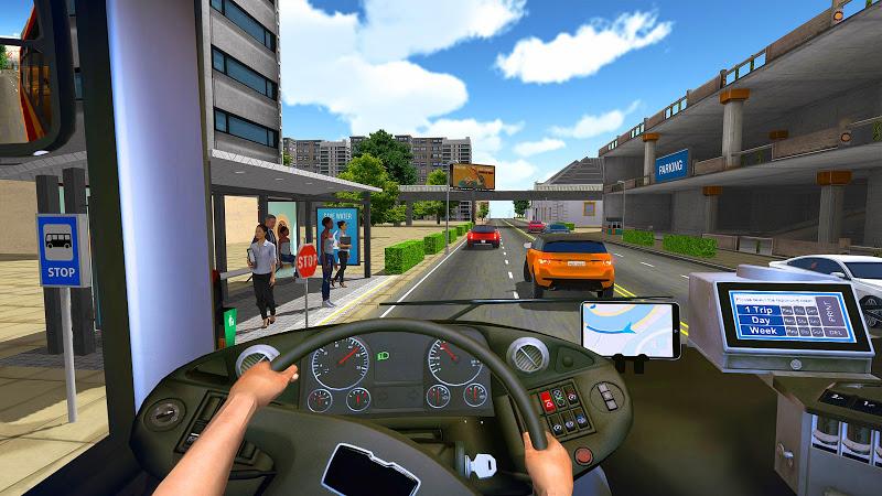 Bus Simulator 2018: City Driving Screenshot 1