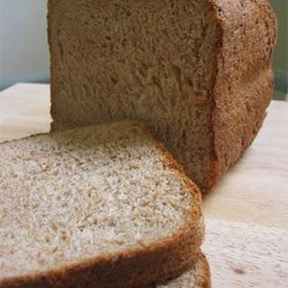 Whole Wheat Honey Bread.