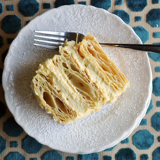 Napoleon Dessert Recipe | French Pastry (Mille Feuille Cream Pastry).