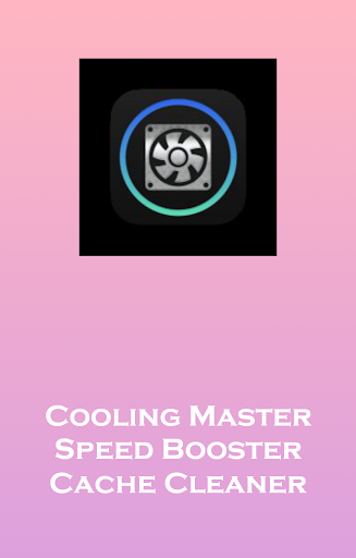 Cooling Master Booster Speed
