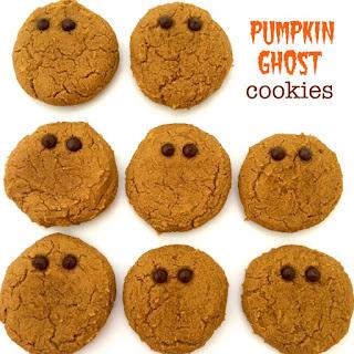 Pumpkin Ghost Cookies