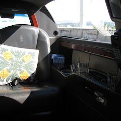 初めて乗ったリムジンタクシー。