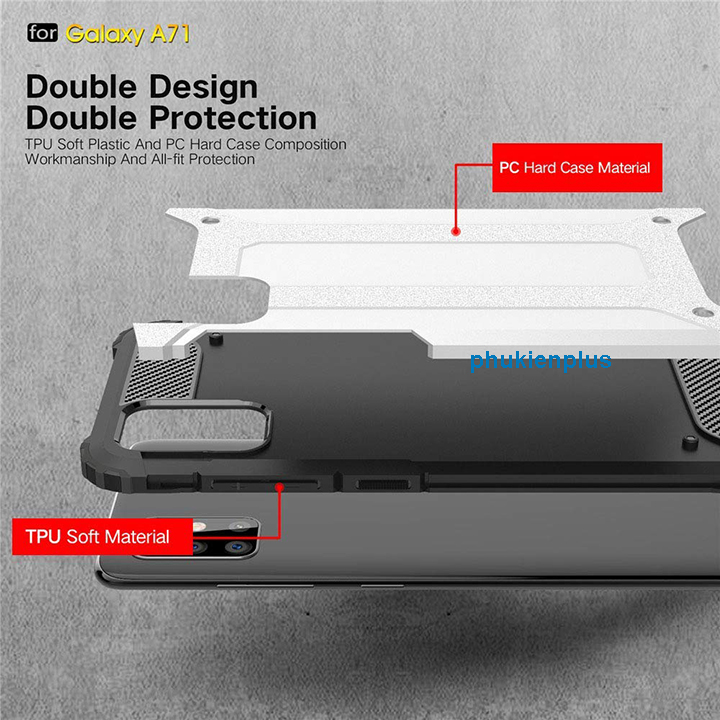 Samsung A71 Pro ốp lưng Ultra Case hầm hố - 3