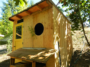 Photo: Chook's coop is coming along