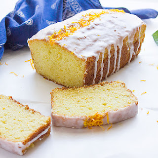 Orange Sour Cream Loaf Cake