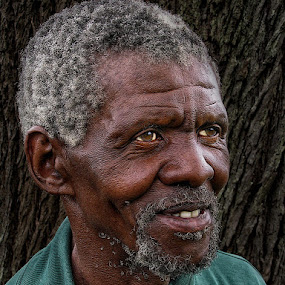 George  by Ben Myburgh - People Portraits of Men ( senior citizen )